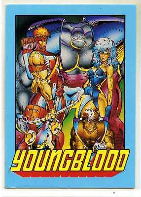 Youngblood - #0 - 1992 - Rob Liefeld - Bedrock - Shaft - Cougar - Riptide