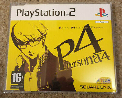 Sony Playstation 2 PS2 Game Persona 4 Shin Megami Tensei Promo Version