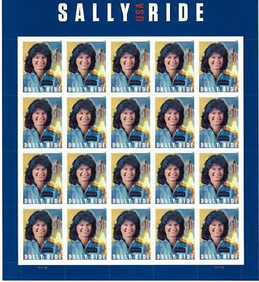 Us Scott 5283 Sheet Of 20 Sally Ride Forever Stamps Mnh