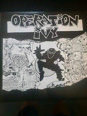 OPERATION IVY - Energy LP - With Insert - Lookout! Records Ska Punk Rancid Vinyl