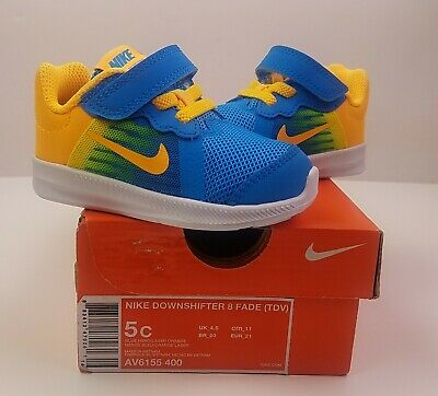 6387bd5d7eee1 NIKE TODDLER BOYS Downshifter 6 Running Shoes 684981-003 Size 10c ...