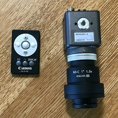 "Microscope Machine Vision Camera SI-C500N & Zeiss Adapter 60-C 1"" 1,0x 456105 01"
