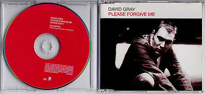 DAVID GRAY Please Forgive Me 2000 UK 1-track promo CD