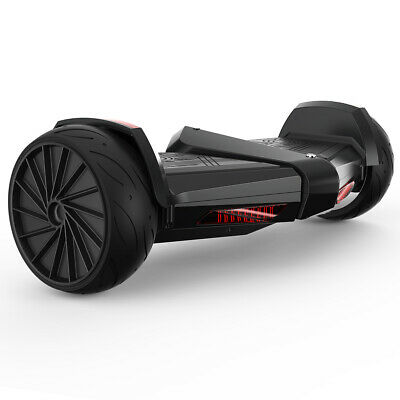"""8.5"""" Self Balancing Hoverboard Jet Scooter LED Bluetooth Speaker Exhaust Smoke"""