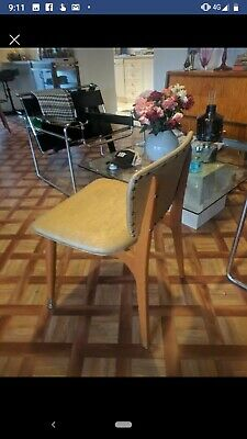 6 x mid century dining chairs  vintage Retro danish style