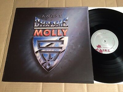 Chrome Molly - Angst - Lp - Holland 1988