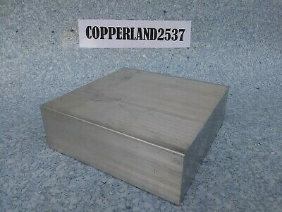 2X6X6 new 6061 T6511 solid aluminum stock plate flat bar cnc milling shop tool