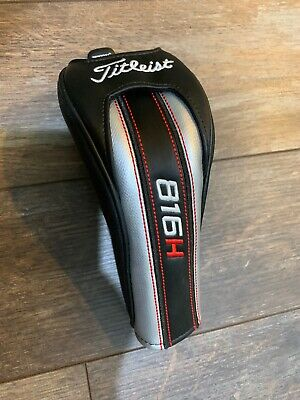 Excellent Titleist 816H 816 H 2 3 4 or 5 Hybrid Rescue Headcover Adjustable Tag