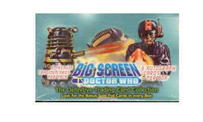 Doctor Who Big Screen Strictly Ink  Trading Card Box - Factory Sealed