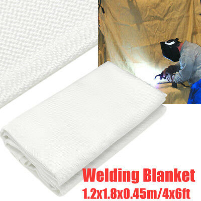 4x6ft Welding Blanket Fire Flame Retardant Fiberglass Cover Protective