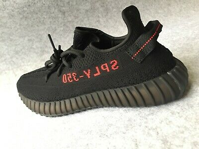 a57e1cb323a ADIDAS YEEZY BOOST 350 V2 Black Red Style Cp9652 Size 11 Us ...