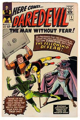 MARVEL Comics DAREDEVIL CENT COPY VOL 1 Issue 6  VFN- 7.0  1964