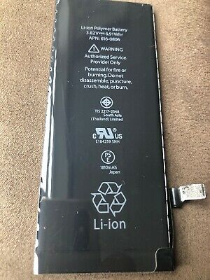New Genuine Capacity Internal Replacement Battery for iPhone 6 6G  0 Cycle