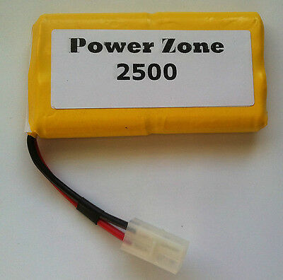 9.6v 2500mAh Ni-MH RC (4x4)Vertically Rechargable AA Power Pack Battery free P&P
