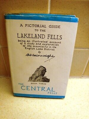 A Pictorial Guide To The Lakeland Fells. Book 3. Central Fells - A Wainwright