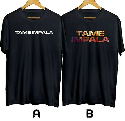 Tame Impala Psychedelic Rock Band T-shirt Cotton 100% Size S-XL