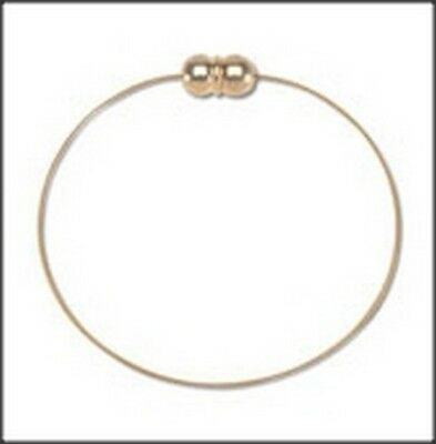 Add-A-Bead Goldtone Magnetic Clasp Bracelet