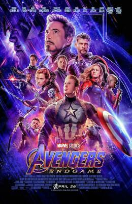 Avengers: Endgame NEW BLU-RAY +D  Pre-order Aug 13 Robert Downey Chris Hemsworth