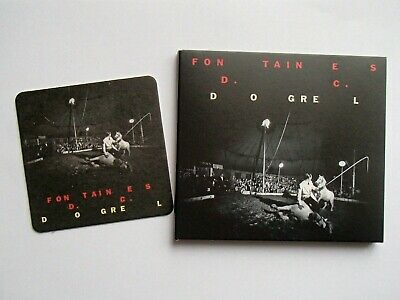 Fontaines D.c. - Dogrel ** Signed ** Cd Album & Beer Mat - Ptkf2166-2