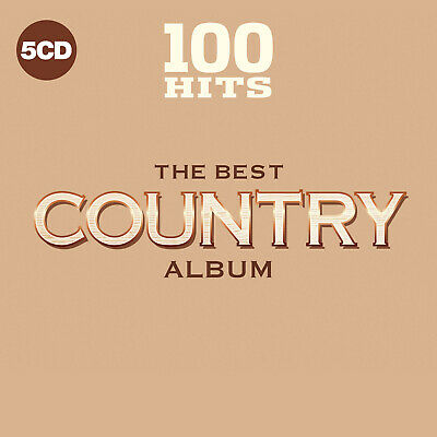 CLASSIC & MODERN COUNTRY of 1960s THRU TODAY Sealed 2019 100 SONG 5 CD BOXSET