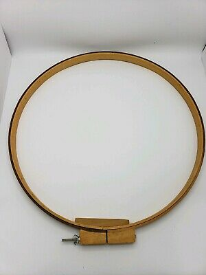 "Large Vintage Wood Quilting Embrodery Hoop 22"" EUC!!"
