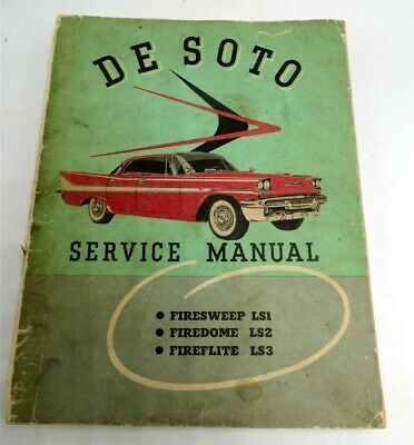 1959 Desoto Firedome Fireflite Owners Manual User Guide Manuels ...