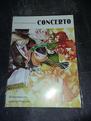 CONCERTO Sakizo Chihiro Youshi Saga series Color Fan Art Book -illustration booK