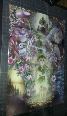 Artbook NEUF - The Legend of Zelda presented by Suzu no Miyako - scellé