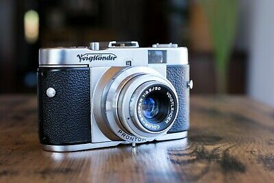 Voigtlander Vito B Rangefinder Color-Skopar 50/f3.5 Vintage Retro Camera - 35mm