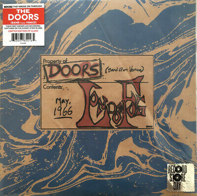"""Doors The Live London Fog 1966  10"""" Lp Vinile Nuovo Record Store Day 2019"""