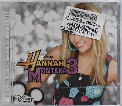 Hannah Montana Series Ost 3  Cd Pop Nuovo E Sigillato