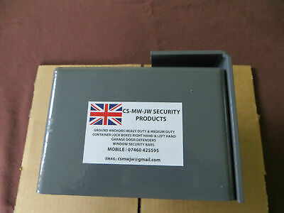 SHIPPING CONTAINER BOLT ON LOCK BOX LEFT HAND OPENING DOOR SECURITY UK Made