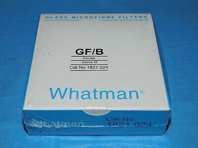 Whatman Glass Microfibre Filters Gf/B Circles 24Mm Cat No. 1821 024 New Qty 100
