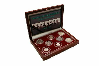 Twilight of the Monarchies Box: A Collection of 8 Coins