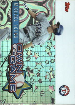 2005 Topps Own the Game #16 Michael Young - NM-MT
