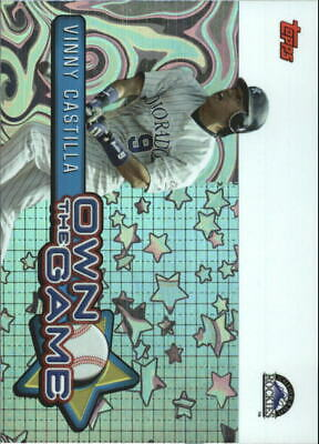2005 Topps Own the Game #26 Vinny Castilla - NM-MT