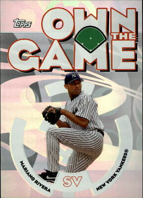2006 Topps Own the Game #OG21 Mariano Rivera - NM-MT