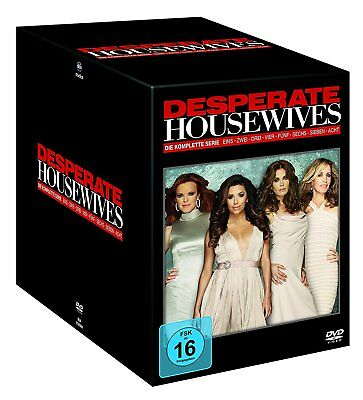 Complete Box Set Desperate Housewives 180 Episodes TV Series 49 DVD Edition