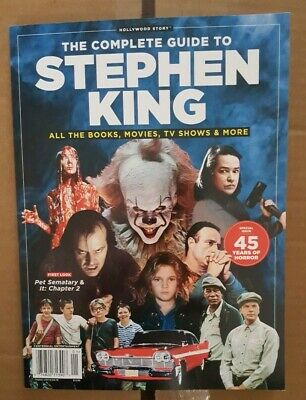 THE COMPLETE GUIDE TO STEPHEN KING 2019 MAGAZINE BRAND NEW Books Movies Tv Shows