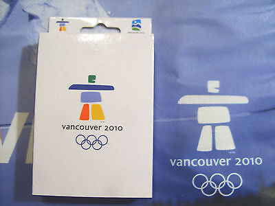 VANCOUVER 2010 Winter OLYMPIC INUKSHUK Playing Cards Official Merchandise