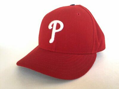 hot sale online b0990 dfd3c Philadelphia Phillies 59Fifty 59 50 Size 7 1 8 New Era MLB Fitted Red Cap