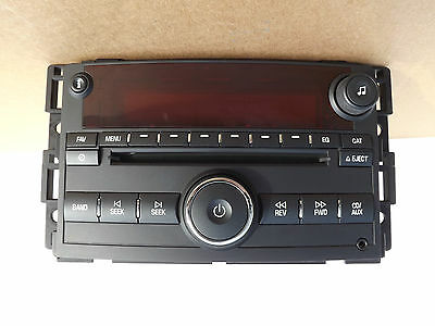 2006-2007 Saturn Vue ION CD Player AM-FM Stereo with AUX plugin used OEM Radio