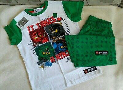 BNWT Next Boys Ninjago Pyjamas Age 9 years
