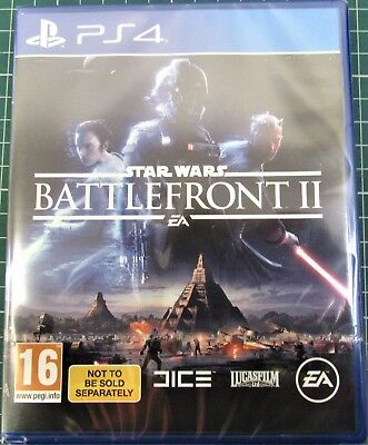 Star Wars Battlefront 2 II (PS4) bundle copy BRAND NEW AND SEALED