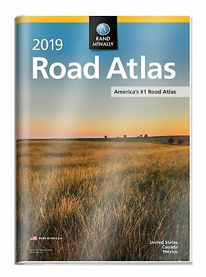 2019 Rand McNally Road Atlas with Protective Vinyl Cover