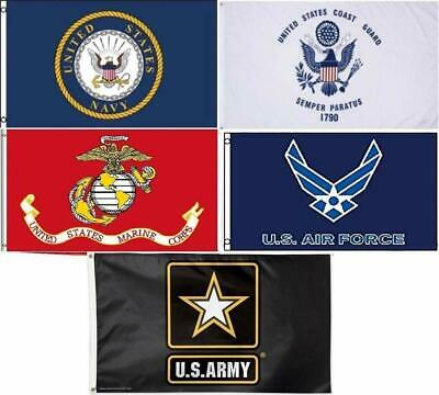 Wholesale Lot 3x5ft 5 Branches Military Set Flag Flags 3'x5' Banner Grommets