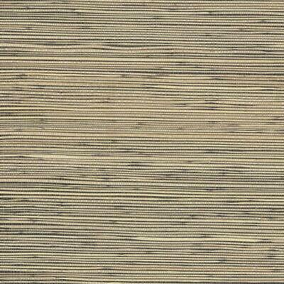Beige and Olive Green Faux Grasscloth on Black Background Wallpaper FD44141