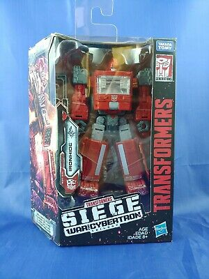 New Transformers Generations SIEGE WAR CYBERTRON WFC-S21 Deluxe IRONHIDE