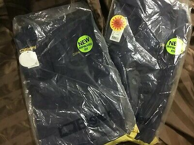 (Pack of 2 ) Bisley Work Overalls Navy Blue Size 102r RRP$55 Each