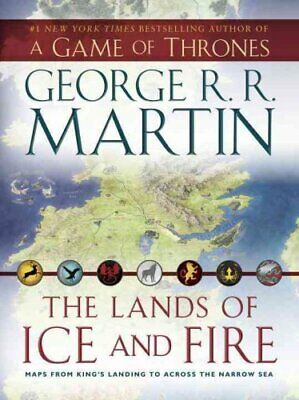 The Lands of Ice and Fire (a Game of Thrones) Maps from King's ... 9780345538543